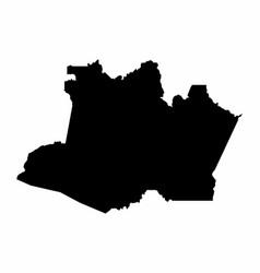 Amazonas state map vector