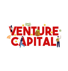 Background concept venture capital vector