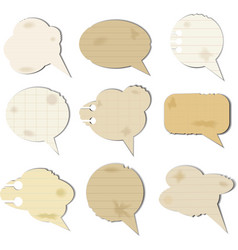 Chat boxes vector