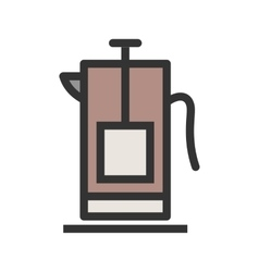French Press vector
