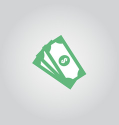 Money icon template design vector