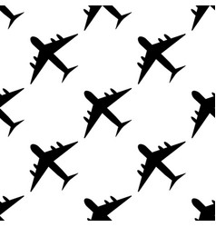 plane pattern simple of plane vector image