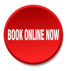 book online now vector image