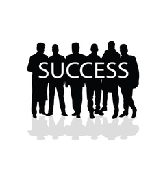 success people vector image vector image
