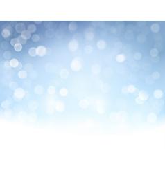 Blue white bokeh background vector
