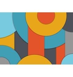 Modern design background vector image vector image