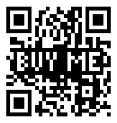 QR Code buy me vector image