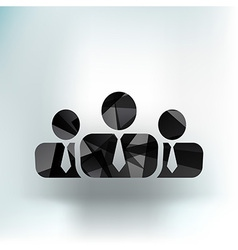 people icon business communication relationships vector image