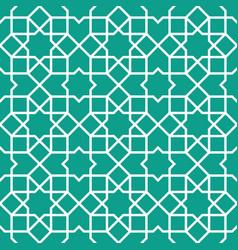 Traditional islamic ornament vector