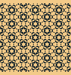 abstract floral geometric seamless pattern with vector image