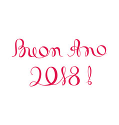 Christmas happy italian merry new year vector images 45 buon ano 2018 happy new year template in italian vector m4hsunfo