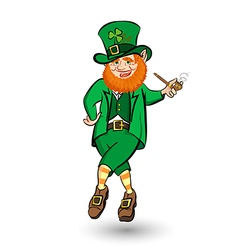 Dancing Leprechaun hat vector