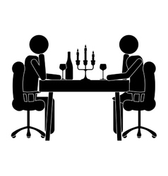 Dining icon image vector