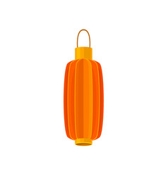 gold chinese lanterns on white background east vector image