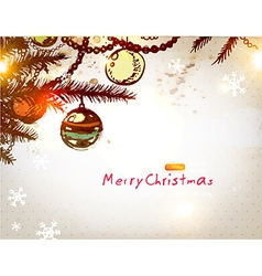 Hand Drawn Christmas Card vector