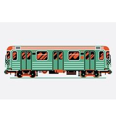 Subway Train Icon vector