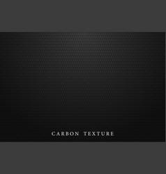 black carbon texture dark background vector image vector image