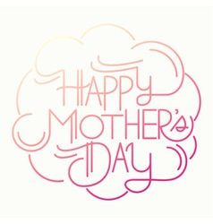 mothers day01 vector image vector image