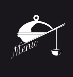 cover for the menu vector image