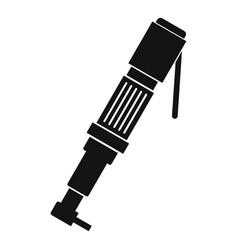 pneumatic screwdriver icon simple vector image vector image