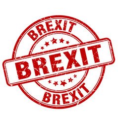 Brexit stamp vector