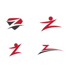 Business corporate z letter logo vector