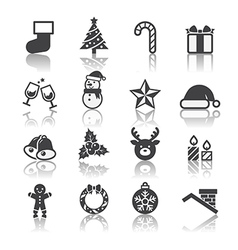 Christmas icon vector