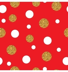 Festive Seamless Pattern Gold vector