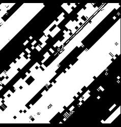 Glitch overlay texture vector