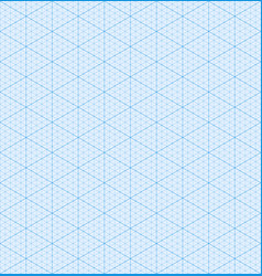 isometric graph paper background seamless pattern vector image