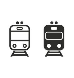 Metro icon vector