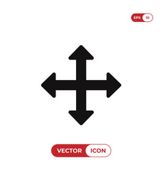 move cursor icon vector image