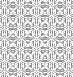 twist little rounds seamless pattern vector image