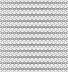 Twist little rounds seamless pattern vector