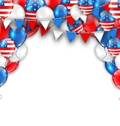 american traditional celebration background vector image