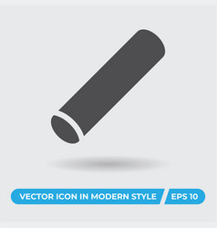 chalk icon simple sign for web site and mobile app vector image