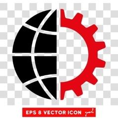 Global Industry Eps Icon vector