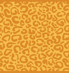 leopard print repeat pattern design with bright vector image