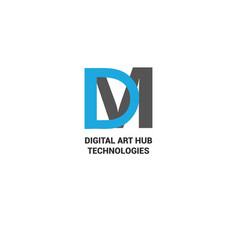 letter logo design vector image