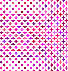 Multicolor star pattern background design vector image