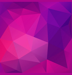 Violet abstract polygonal background vector