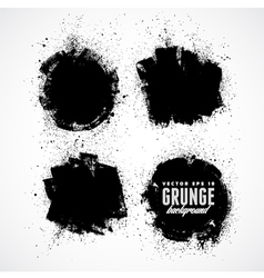 Set of four grunge banners vector image vector image
