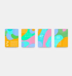 abstract fun color dot pattern cartoon texture vector image