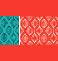 abstract seamless background hand drawn pattern vector image