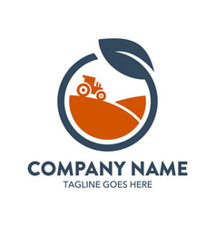 agriculture logo-8 vector image