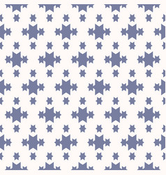 blue and white geometric seamless pattern with vector image