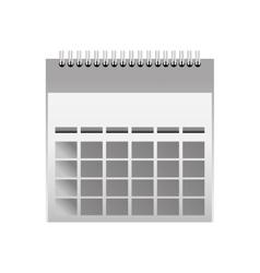 calendar month date vector image