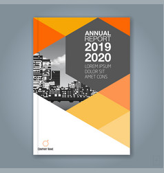 Cover annual report 1776 vector