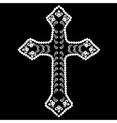 Decorative Cross vector
