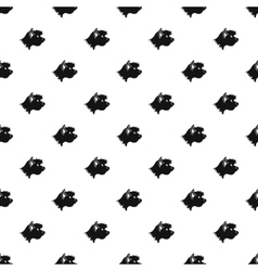Great dane dog pattern simple style vector